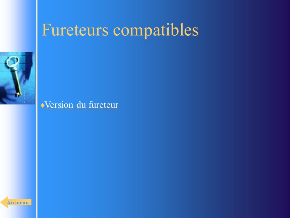 Fureteurs compatibles