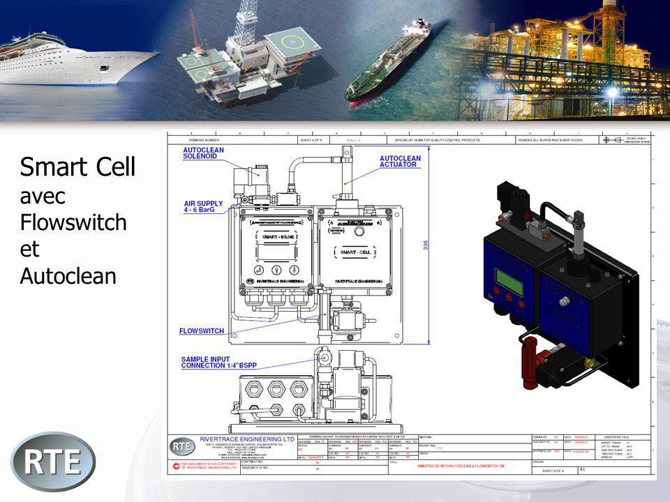 Smart Cell avec Flowswitch et Autoclean