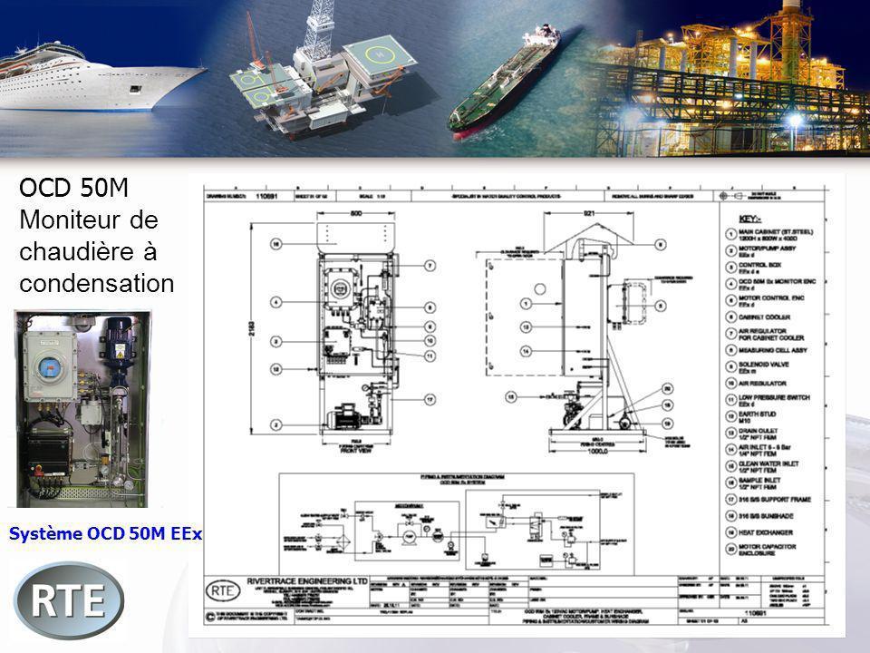 OCD 50M Moniteur de chaudière à condensation Système OCD 50M EEx