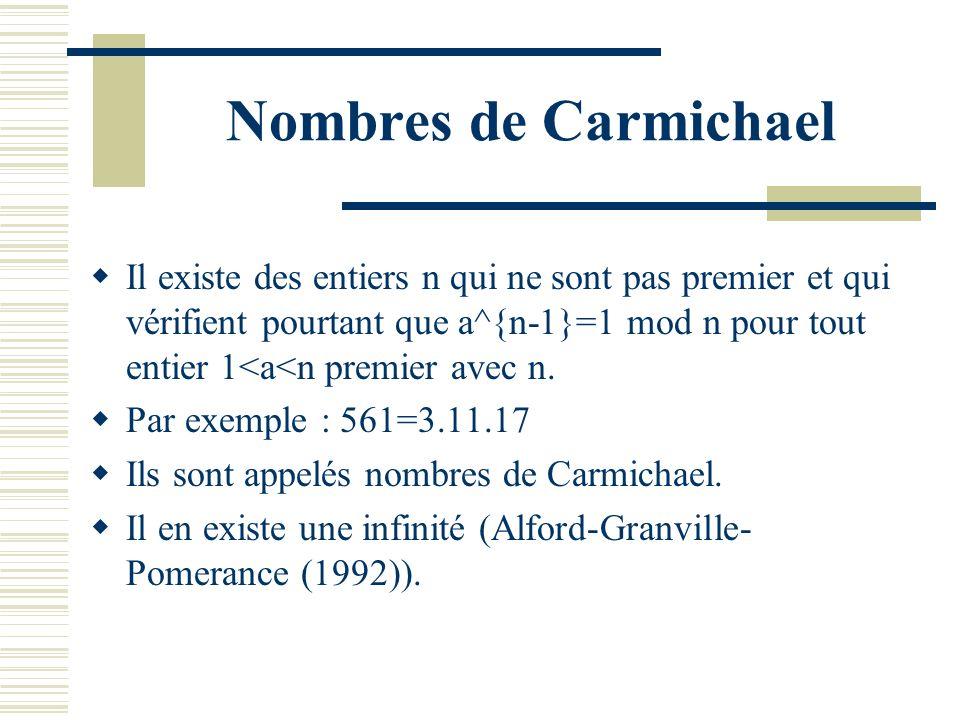 Nombres de Carmichael