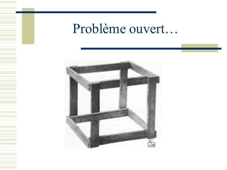 Problème ouvert…
