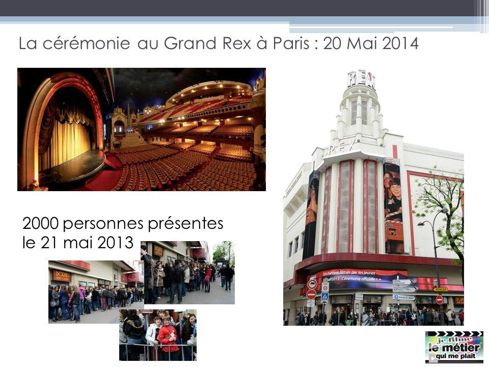 La cérémonie au Grand Rex à Paris : 20 Mai 2014