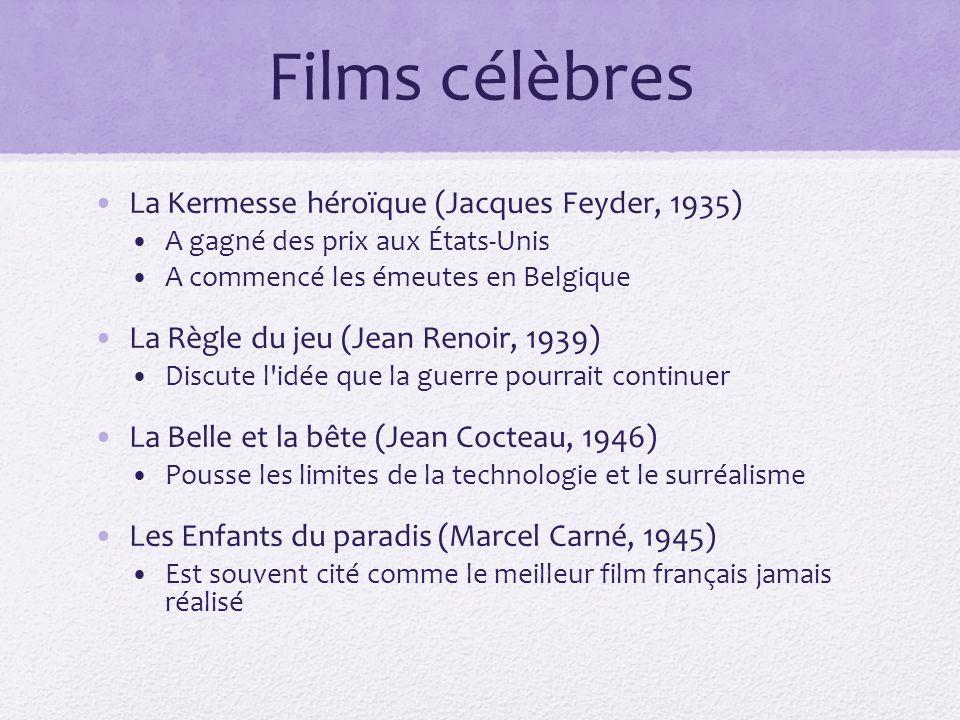 Films célèbres La Kermesse héroïque (Jacques Feyder, 1935)