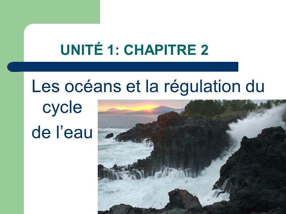 Les océans et la régulation du cycle de l'eau
