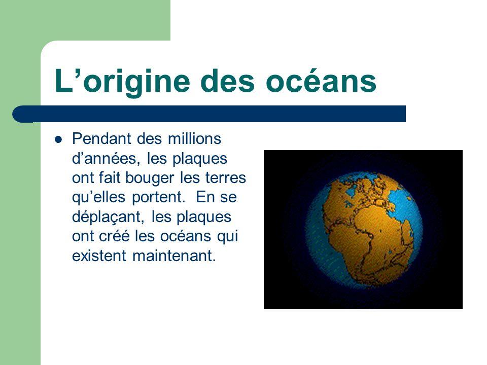 L'origine des océans
