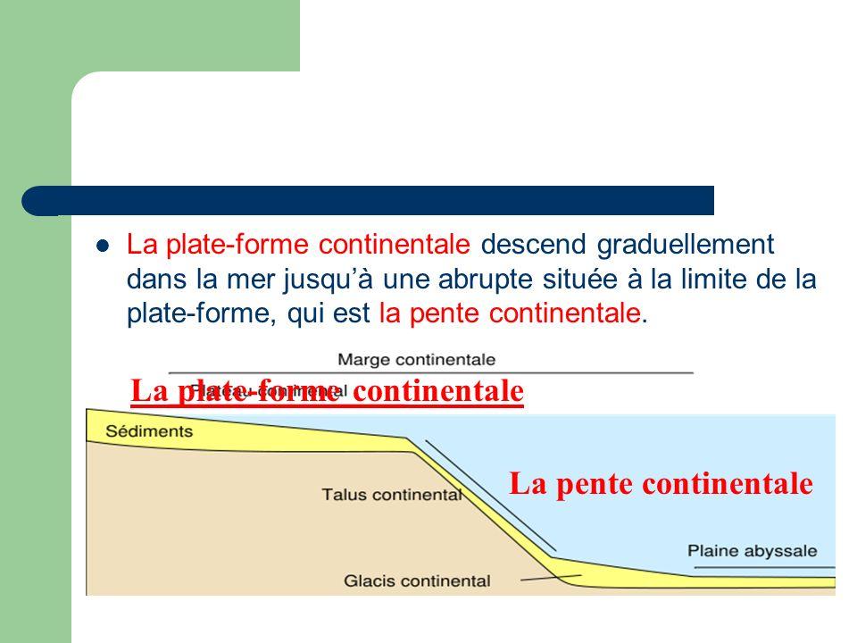 La plate-forme continentale