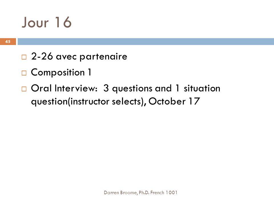 Jour 16 2-26 avec partenaire Composition 1