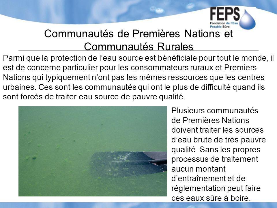 Communautés de Premières Nations et Communautés Rurales