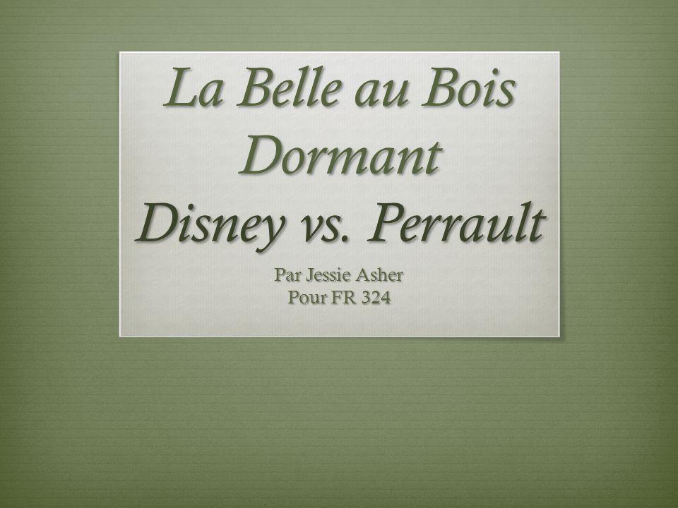 La Belle au Bois Dormant Disney vs. Perrault
