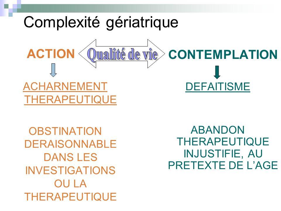Complexité gériatrique