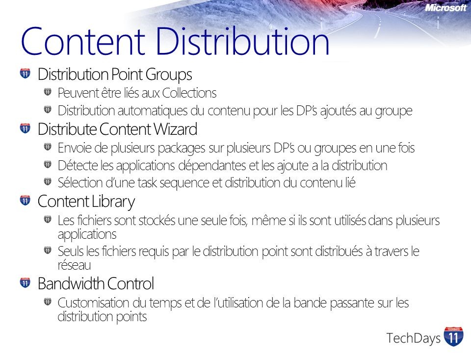Content Distribution Distribution Point Groups