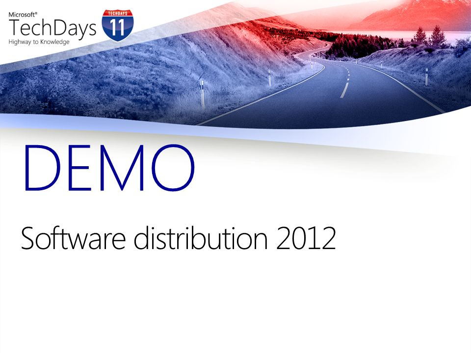 Software distribution 2012