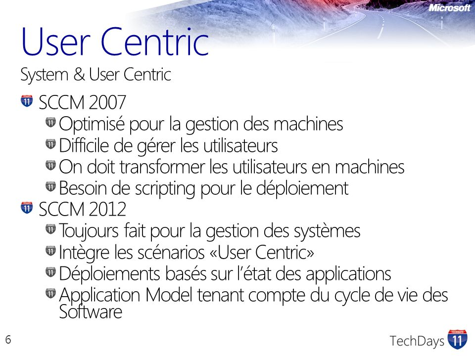 User Centric System & User Centric