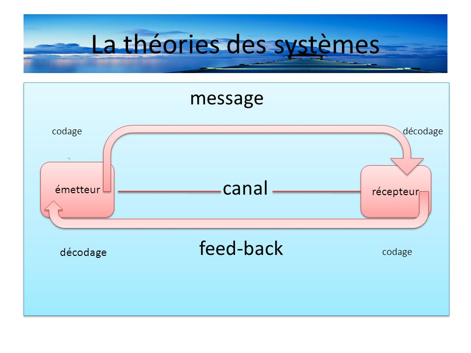 La théories des systèmes