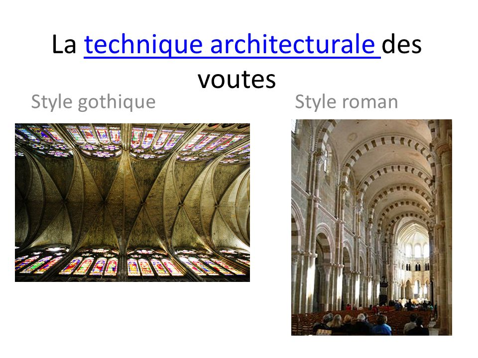 La technique architecturale des voutes