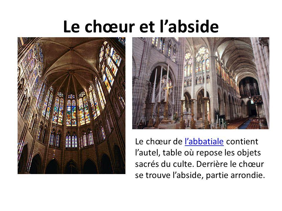 Le chœur et l'abside