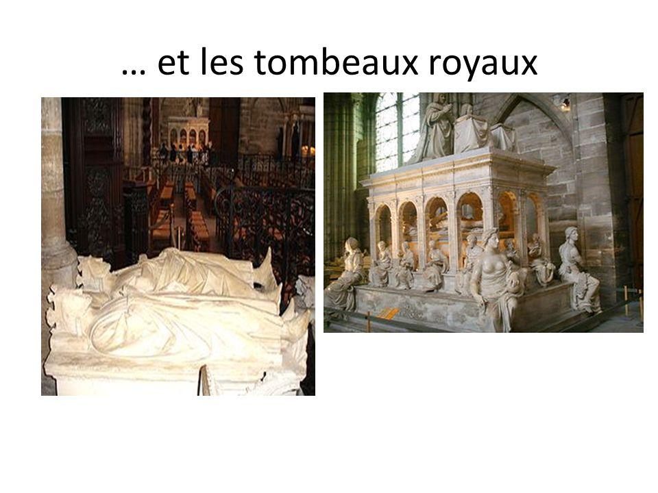 … et les tombeaux royaux
