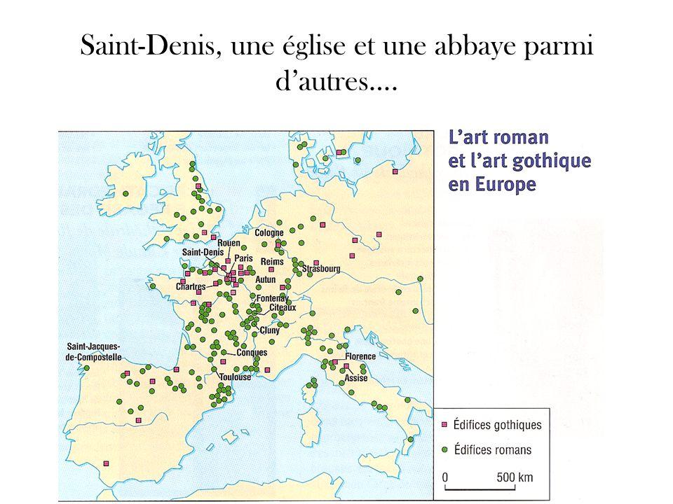 Saint-Denis, une église et une abbaye parmi d'autres….