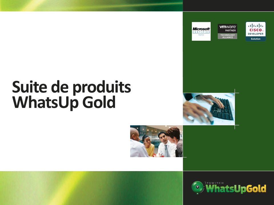 Suite de produits WhatsUp Gold
