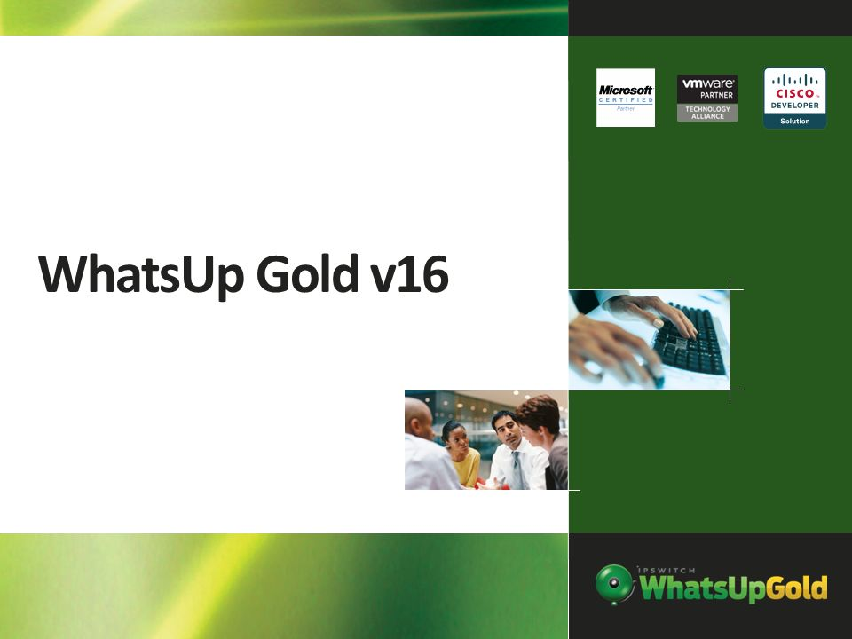WhatsUp Gold v16