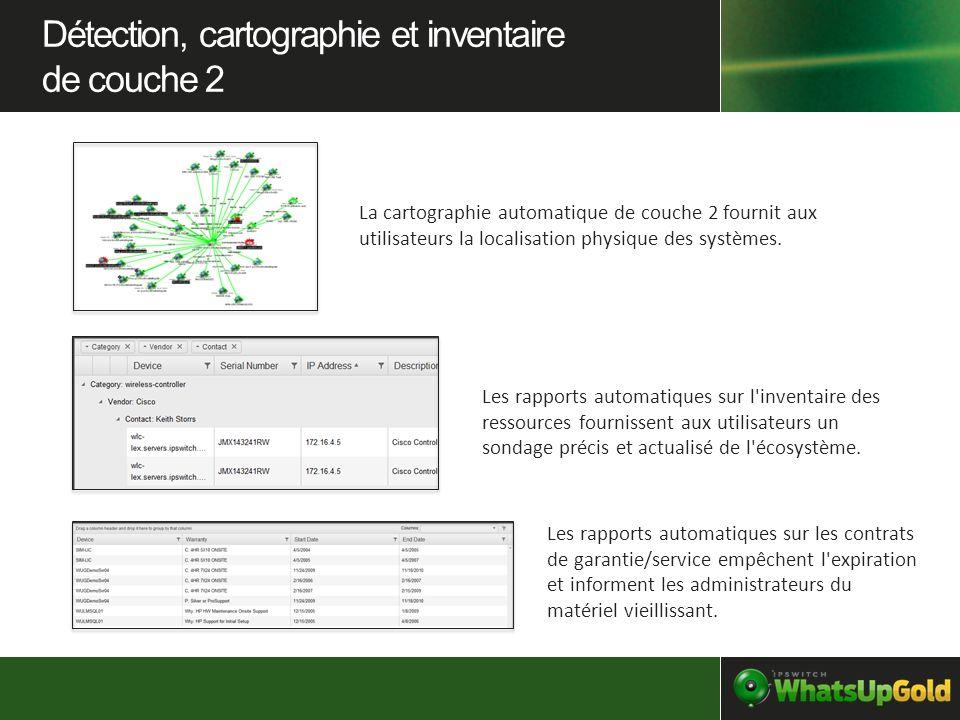 Détection, cartographie et inventaire de couche 2