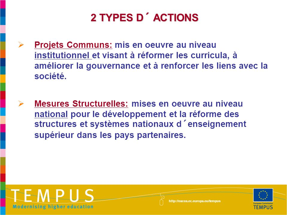 2 TYPES D´ ACTIONS