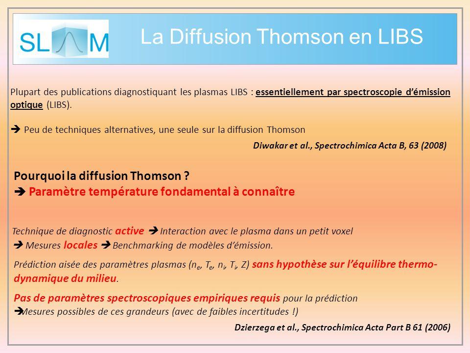 La Diffusion Thomson en LIBS