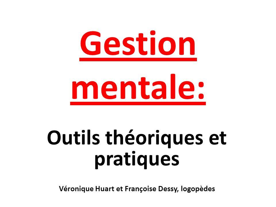 Gestion mentale: Outils théoriques et pratiques