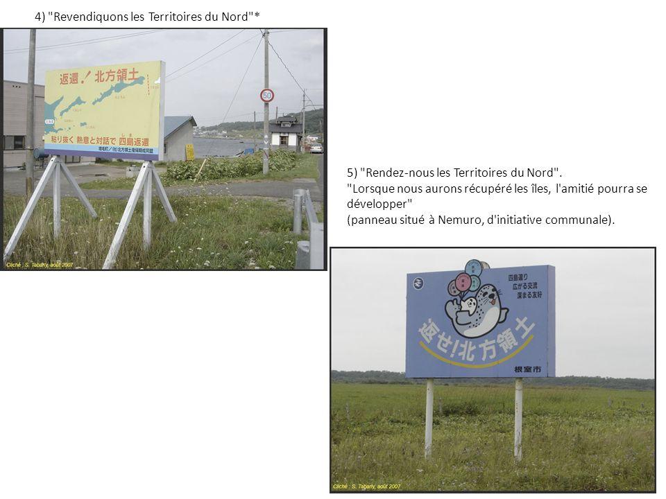 4) Revendiquons les Territoires du Nord *