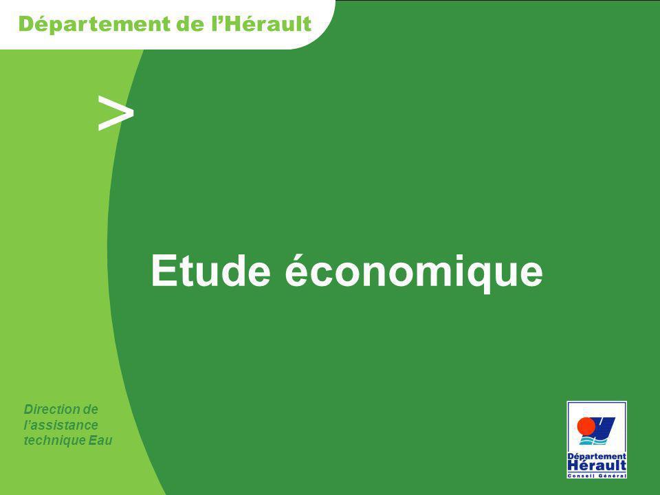 Etude économique