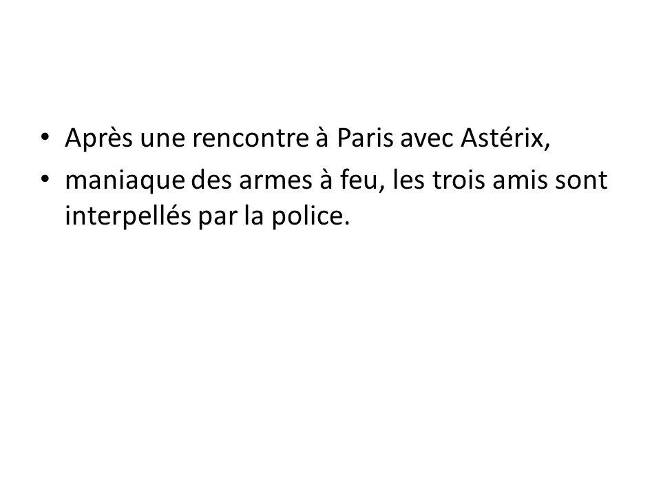 Après une rencontre à Paris avec Astérix,