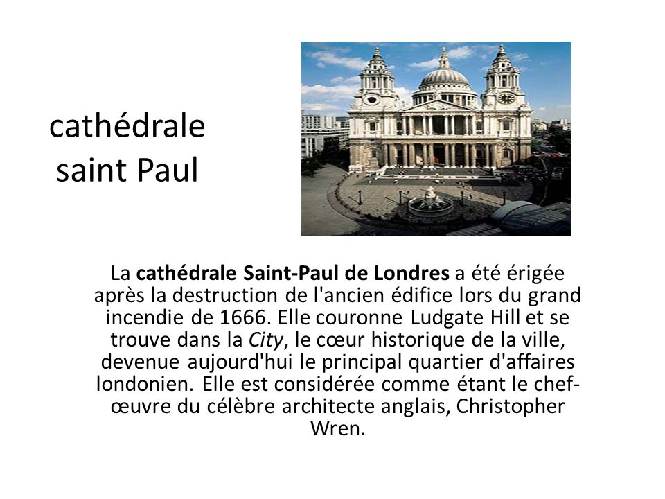 cathédrale saint Paul