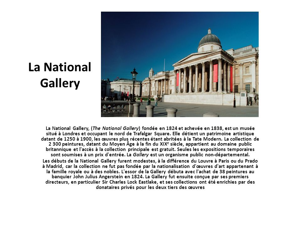 La National Gallery