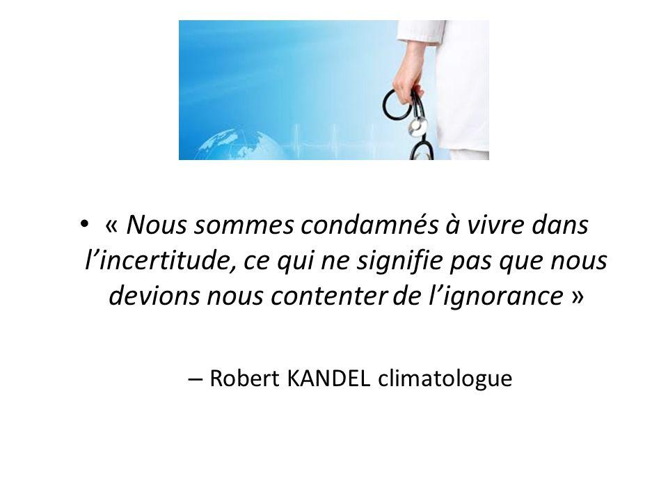 Robert KANDEL climatologue