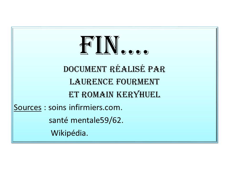 FIN…. Document réalisé par Laurence Fourment Et Romain Keryhuel
