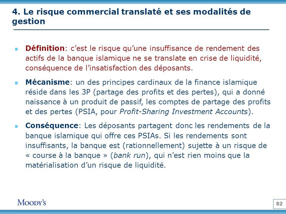 4. Le risque commercial translaté et ses modalités de gestion