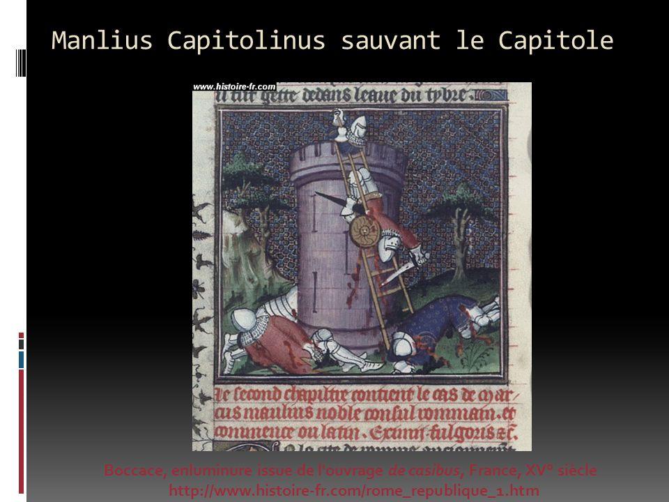 Manlius Capitolinus sauvant le Capitole