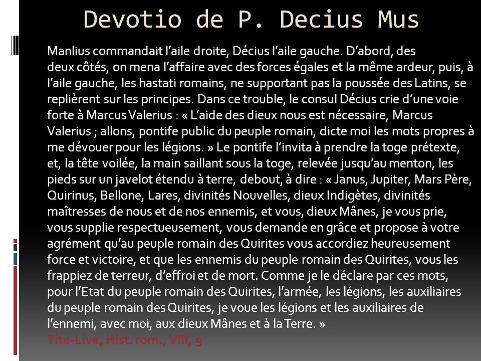 Devotio de P. Decius Mus