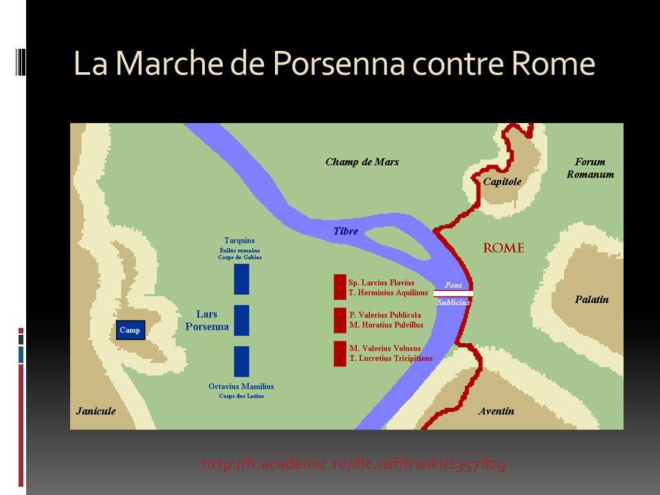 La Marche de Porsenna contre Rome