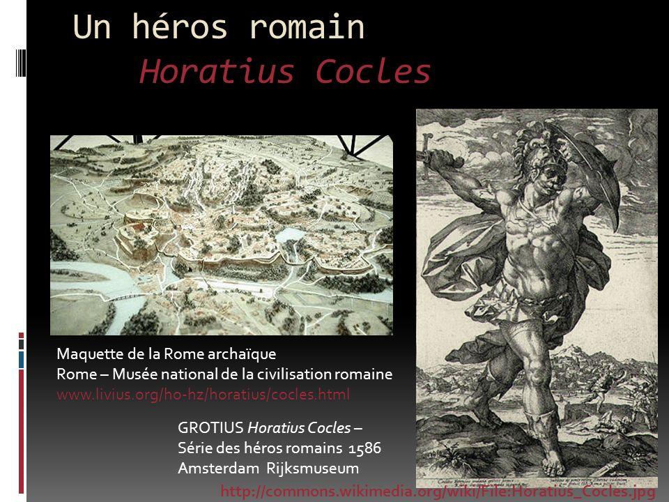 Un héros romain Horatius Cocles