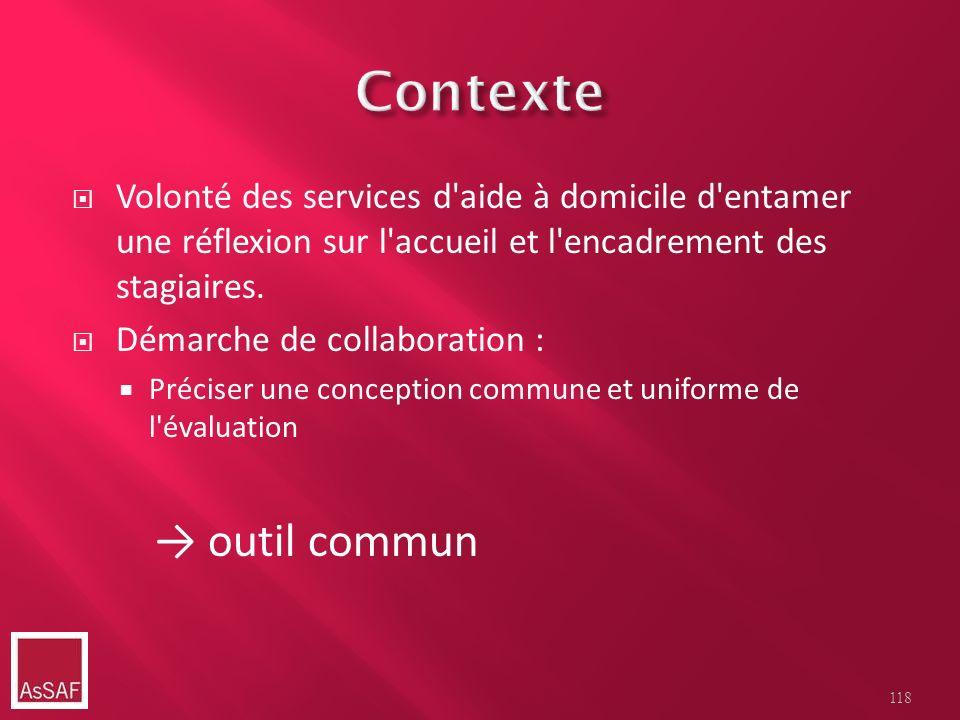 Contexte → outil commun