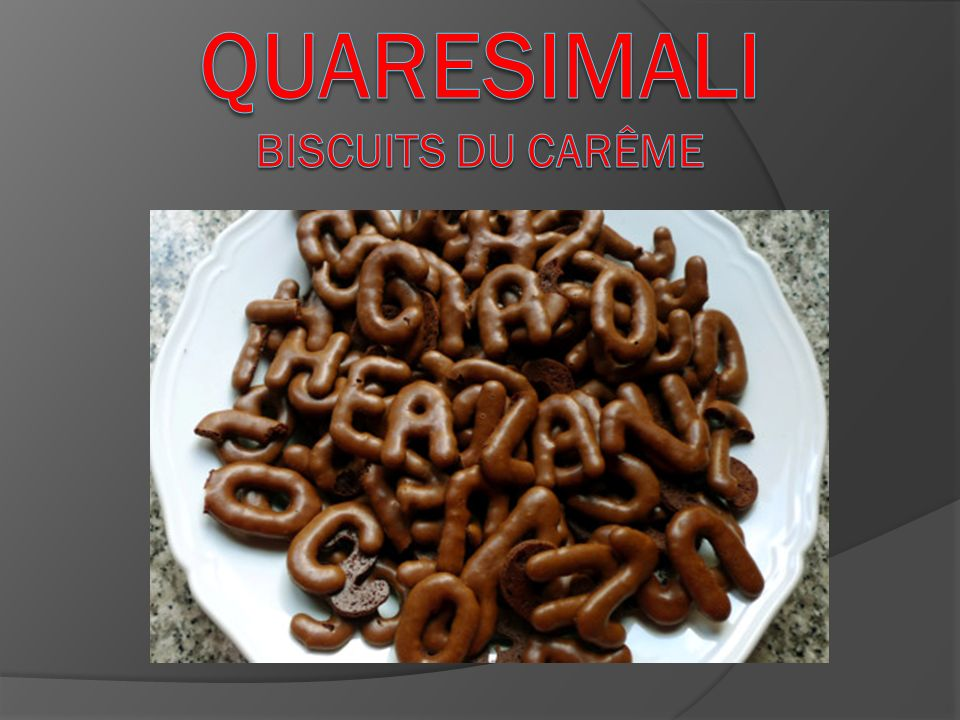 QUARESIMALI Biscuits du Carême