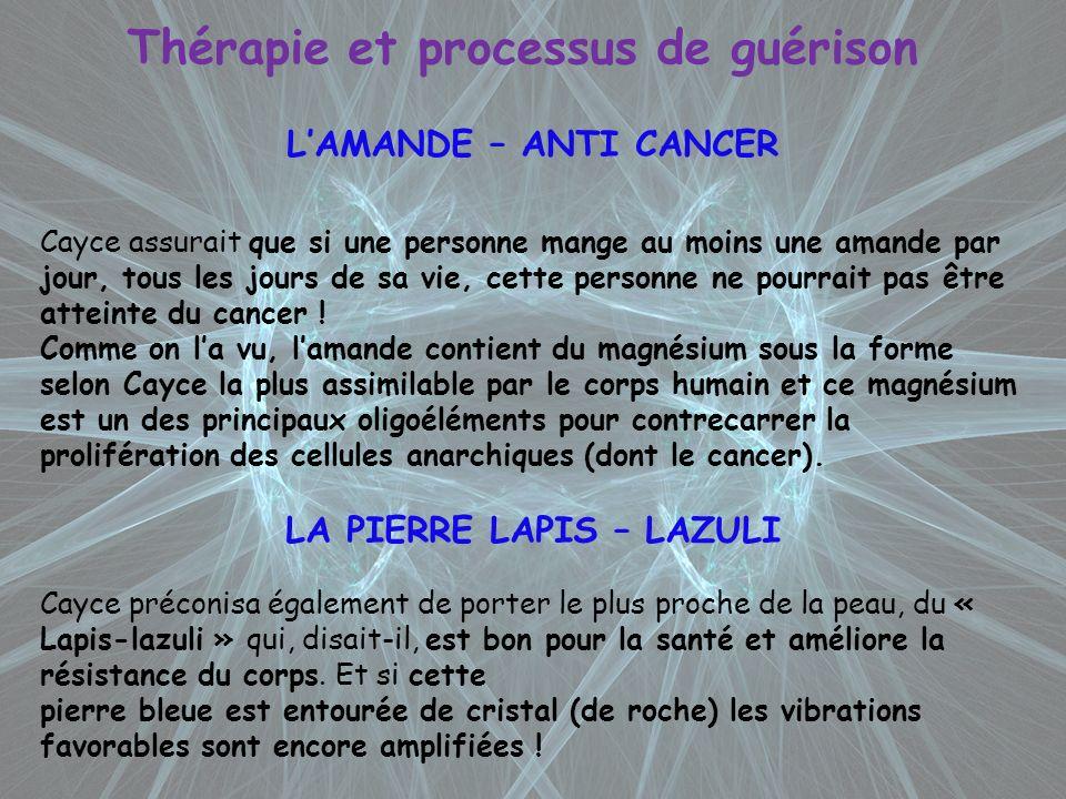 Thérapie et processus de guérison LA PIERRE LAPIS – LAZULI