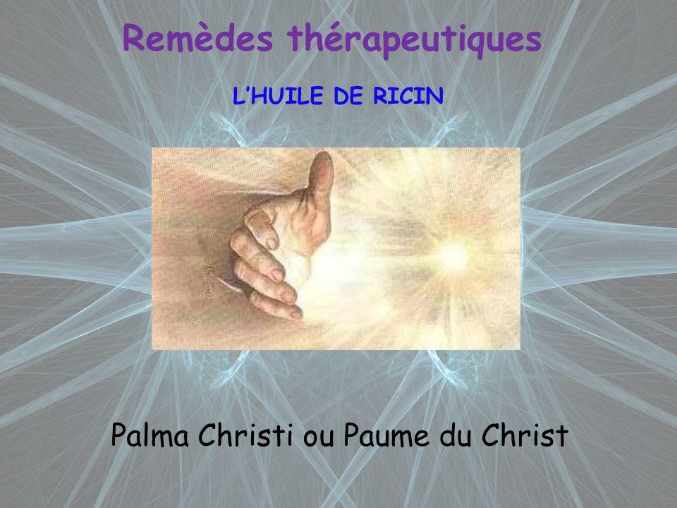 Remèdes thérapeutiques