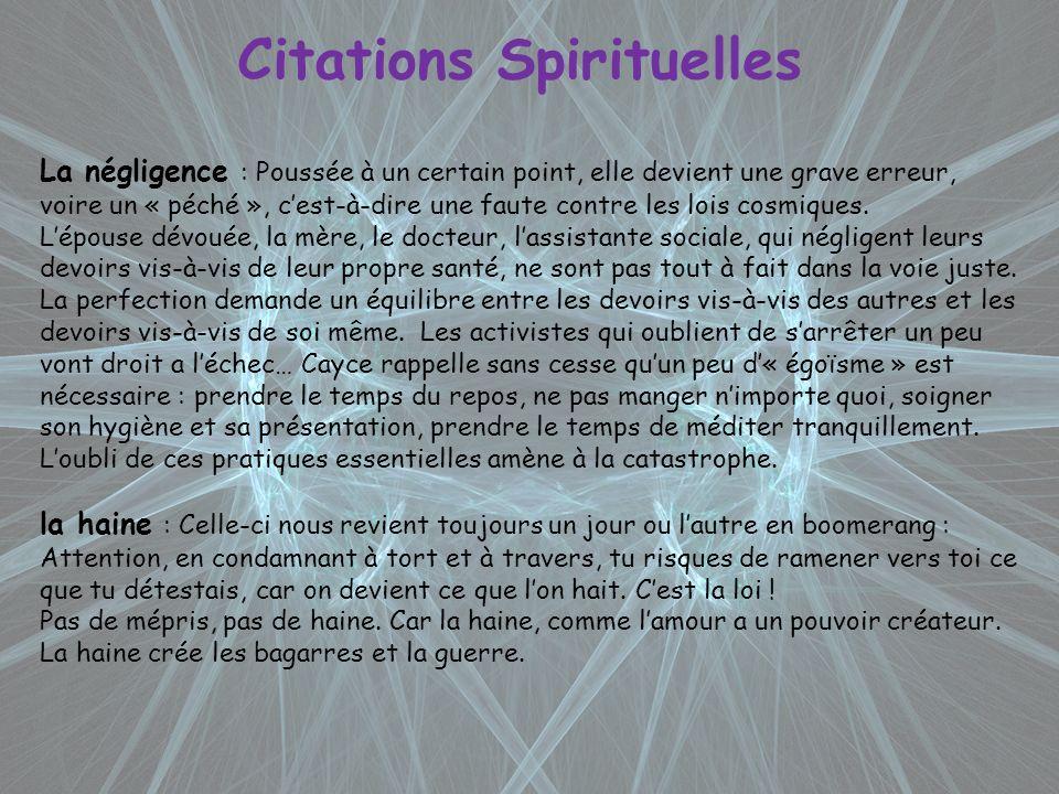 Citations Spirituelles
