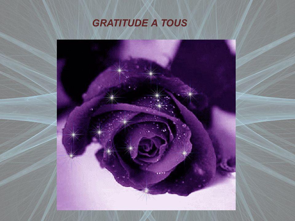 GRATITUDE A TOUS