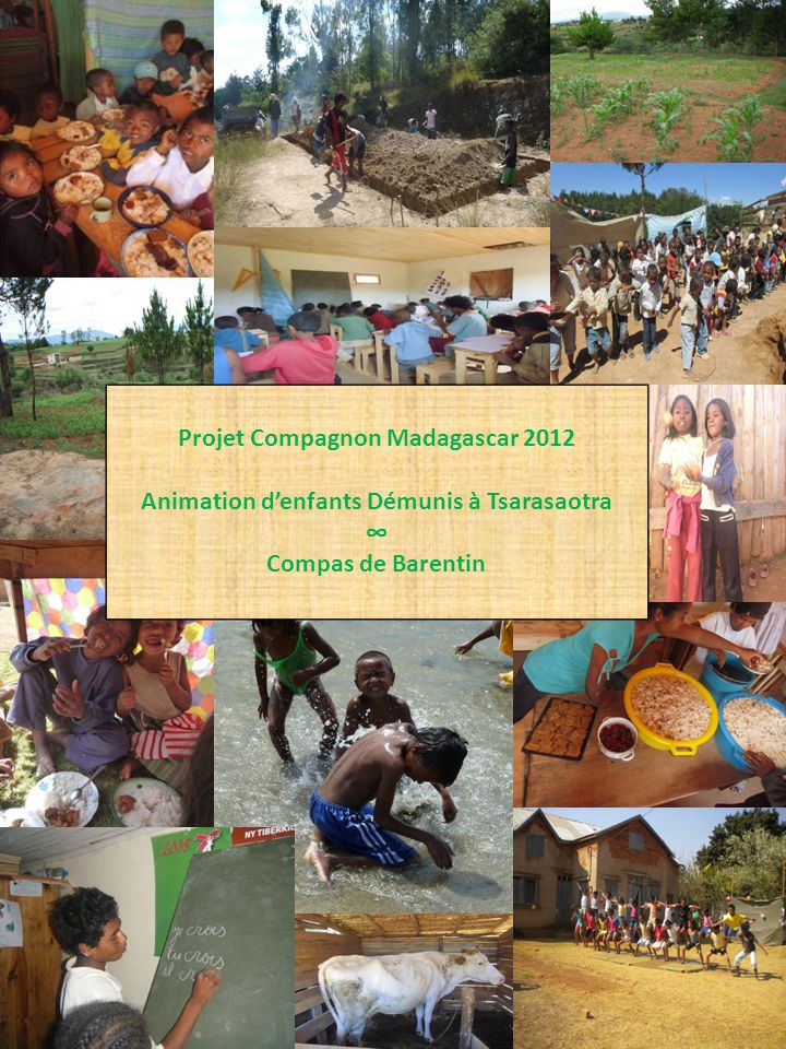 Projet Compagnon Madagascar 2012