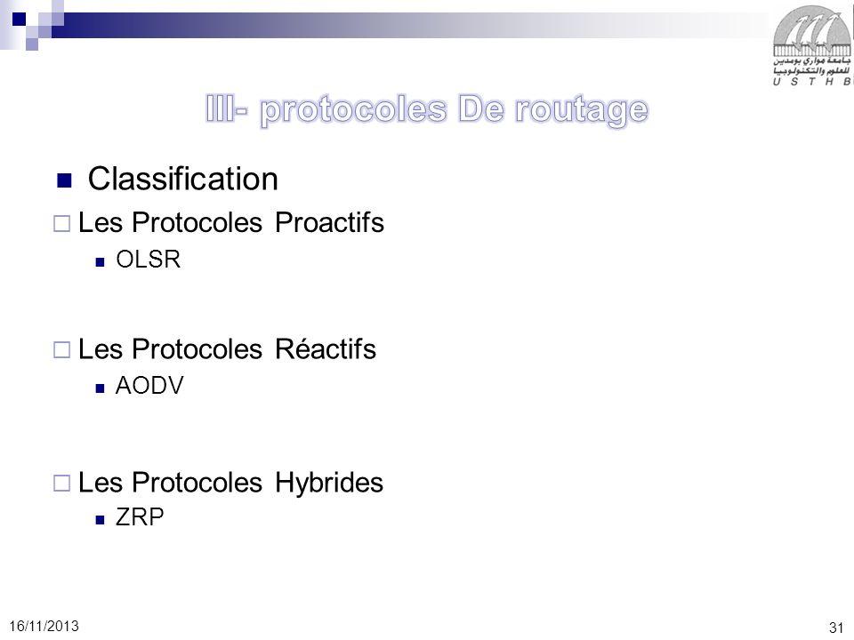 III- protocoles De routage