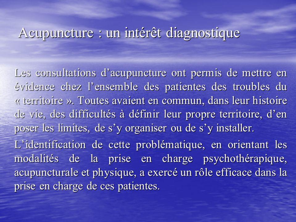Acupuncture : un intérêt diagnostique