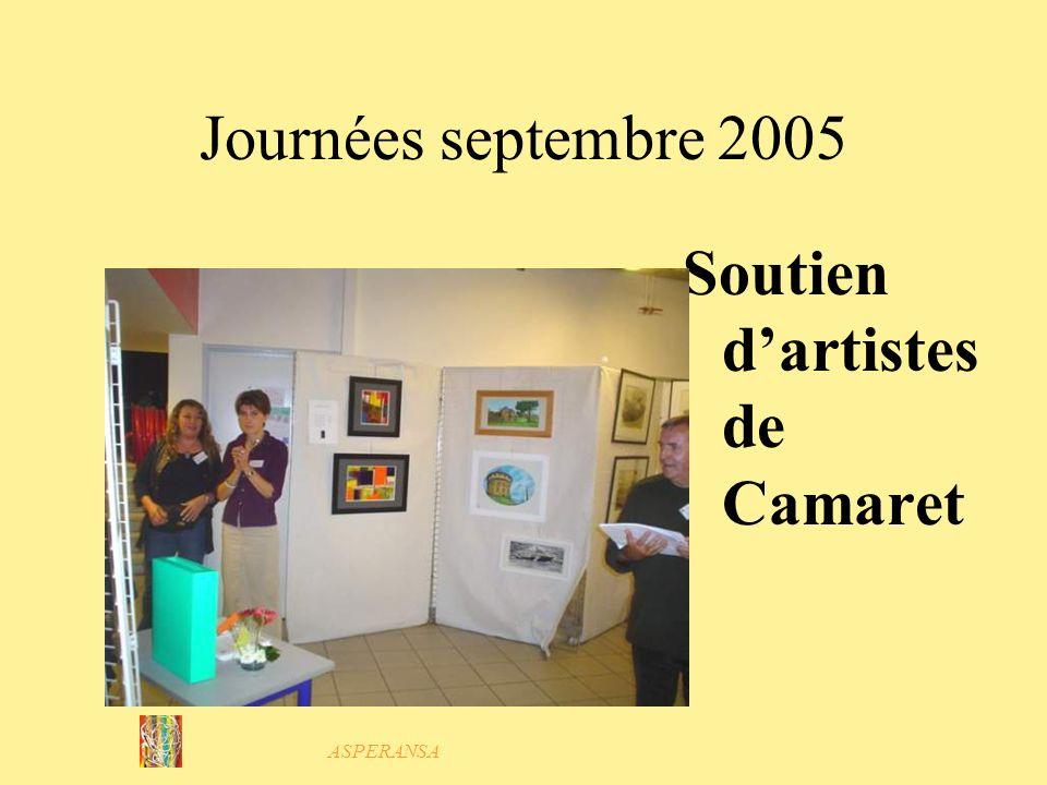 Soutien d'artistes de Camaret
